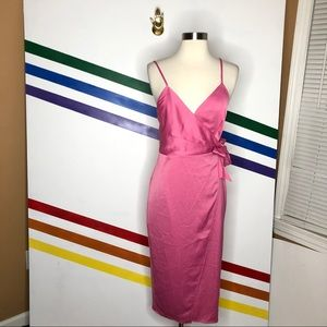 NEW Urban Outfitters wrap midi dress